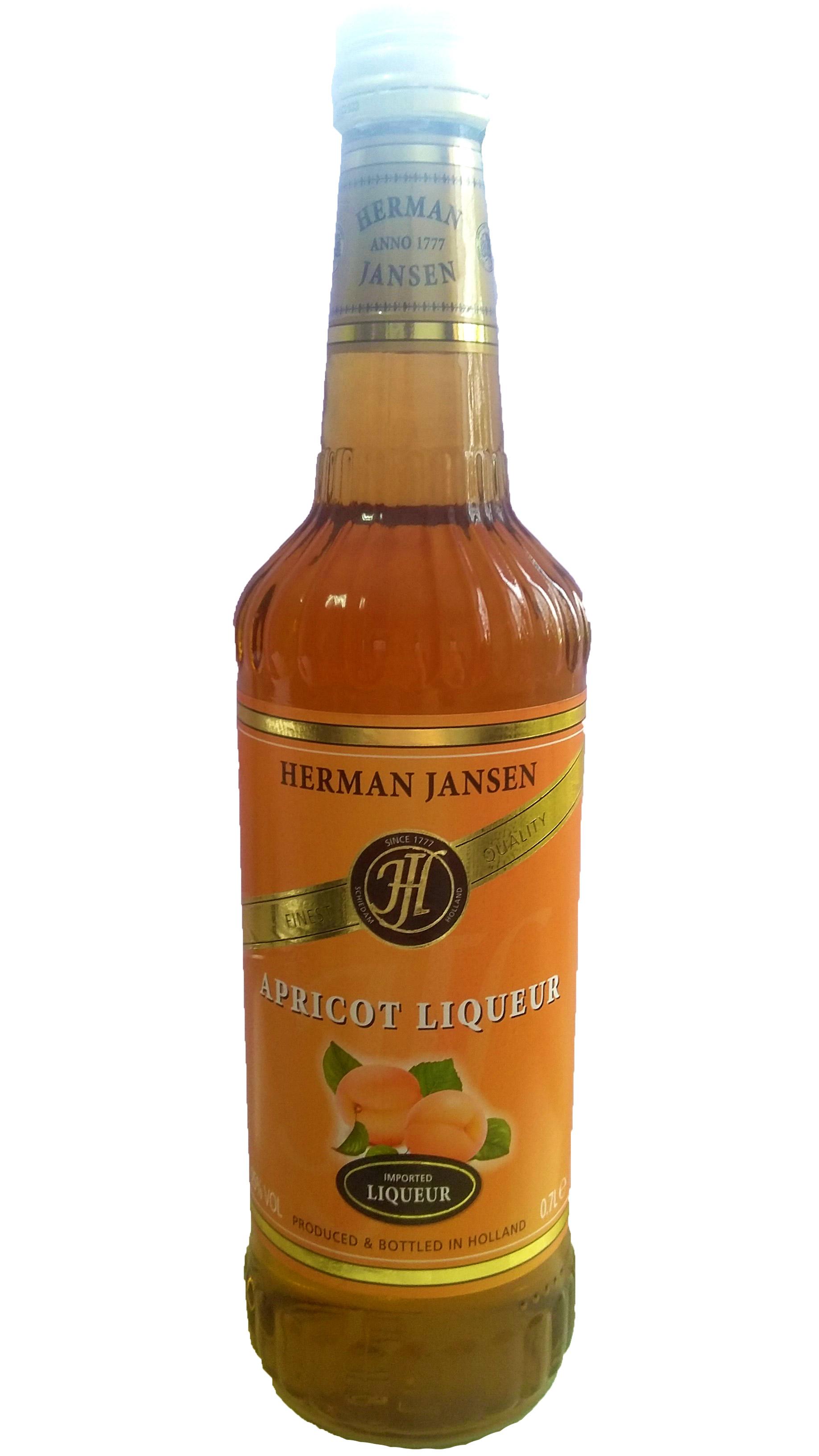 Herman Jansen Apricot Lichior 25% 0,7L