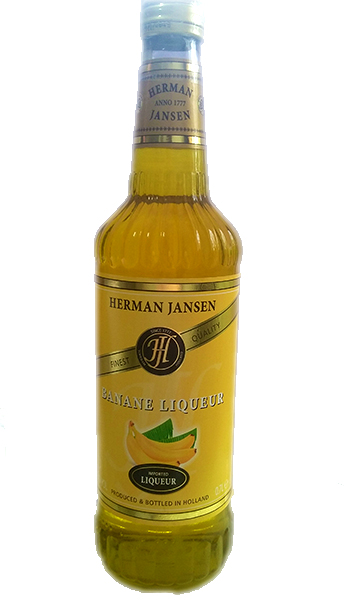 Herman Jansen Banane Lichior 25% 0,7L