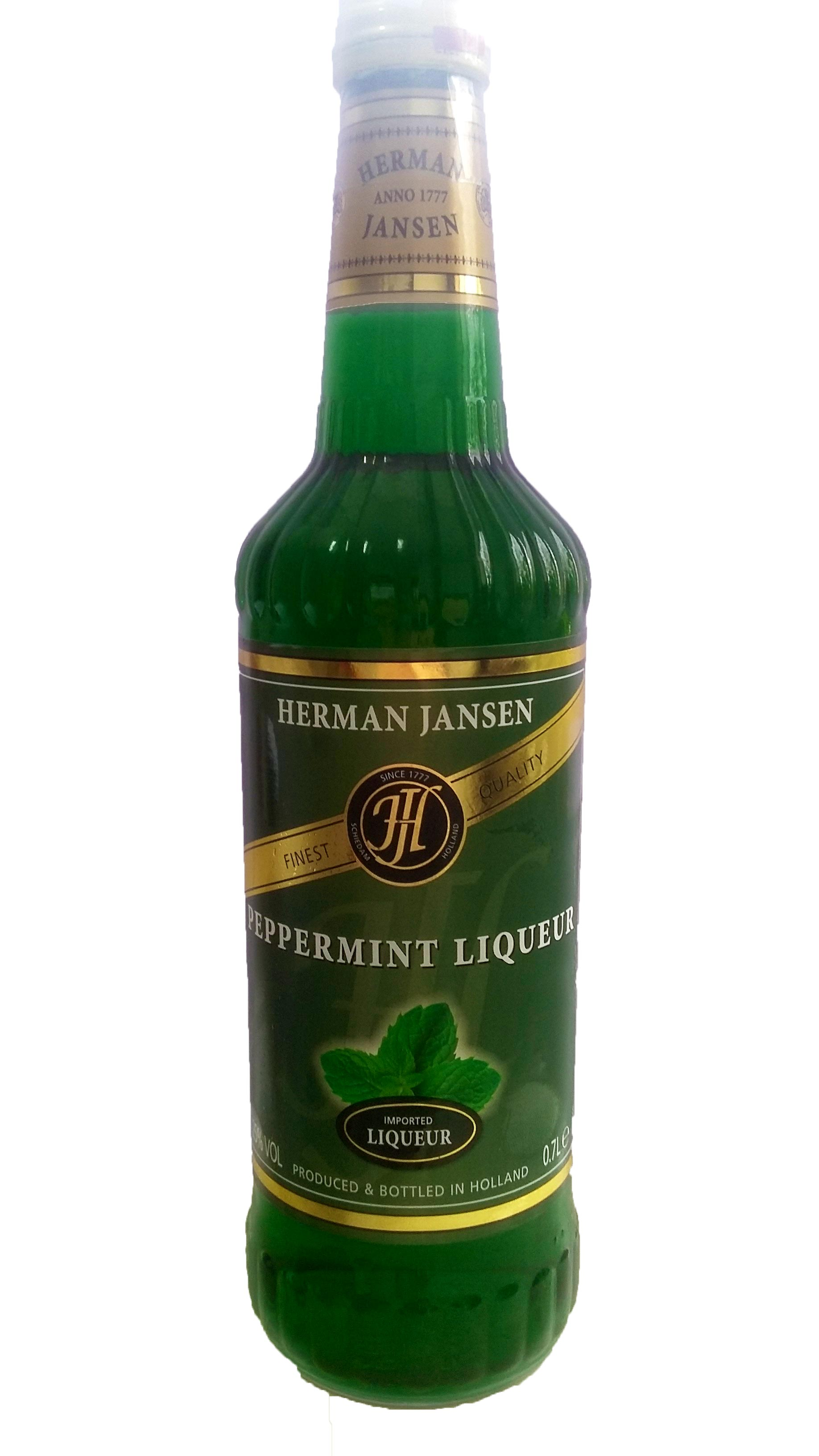 Herman Jansen Peppermint Lichior 25% 0,7L